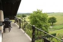 Terasse mit Ausblick in die Eifel